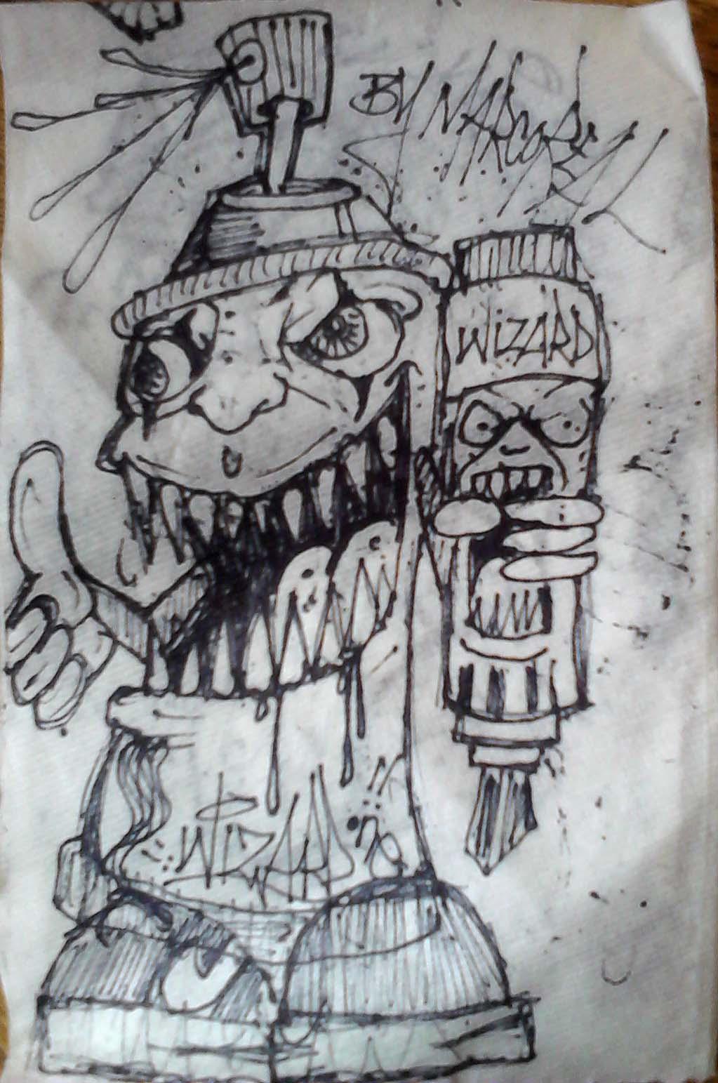 Skull spraycan by ysm2000 on deviantart