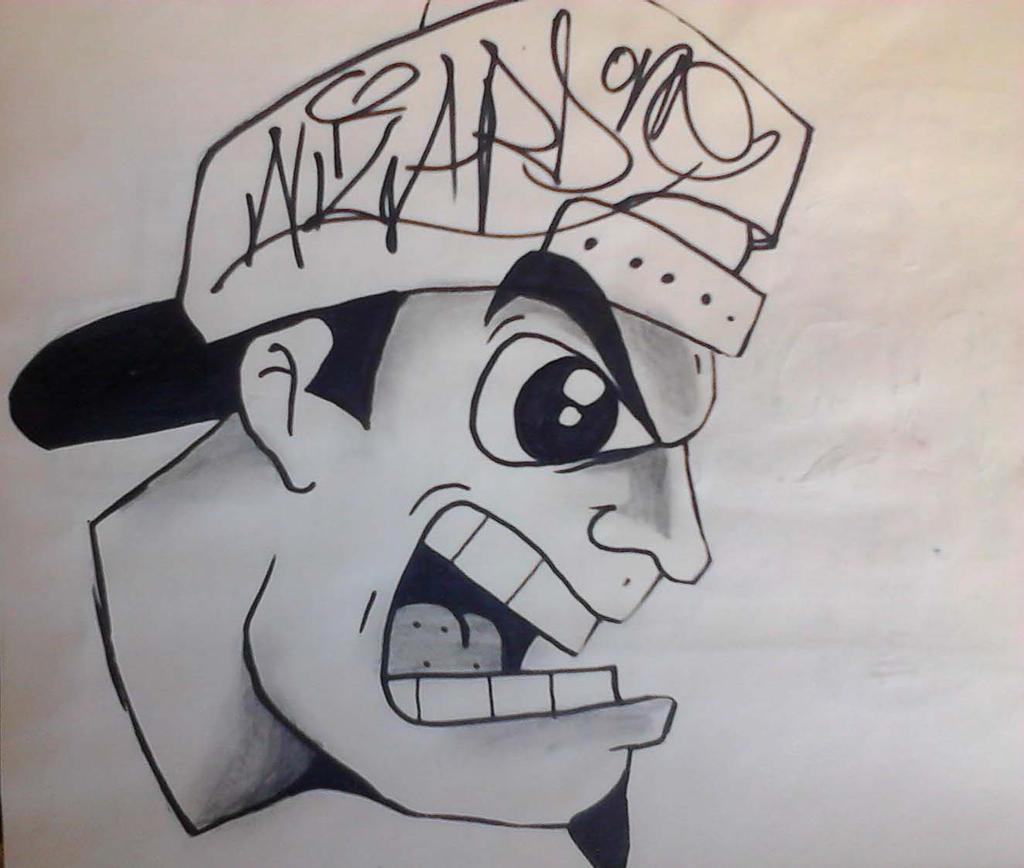 graffiti character by wizard1labels on DeviantArt  graffiti charac...