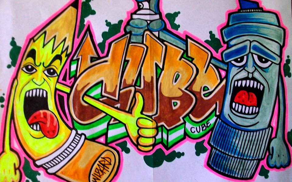 cholowiz graffiti - CUBE by wizard1labels on DeviantArt