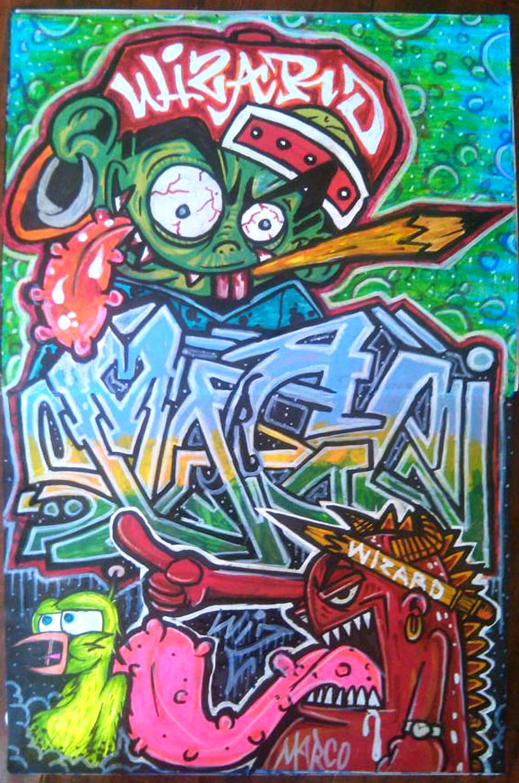 cholowiz graffiti sticker by wizard1labels on DeviantArt