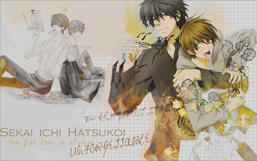 Sekai ichi Hatsukoi Wallpaper by CharlotteGray on DeviantArt
