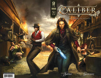 Caliber Variant Cover 05 by Thegerjoos