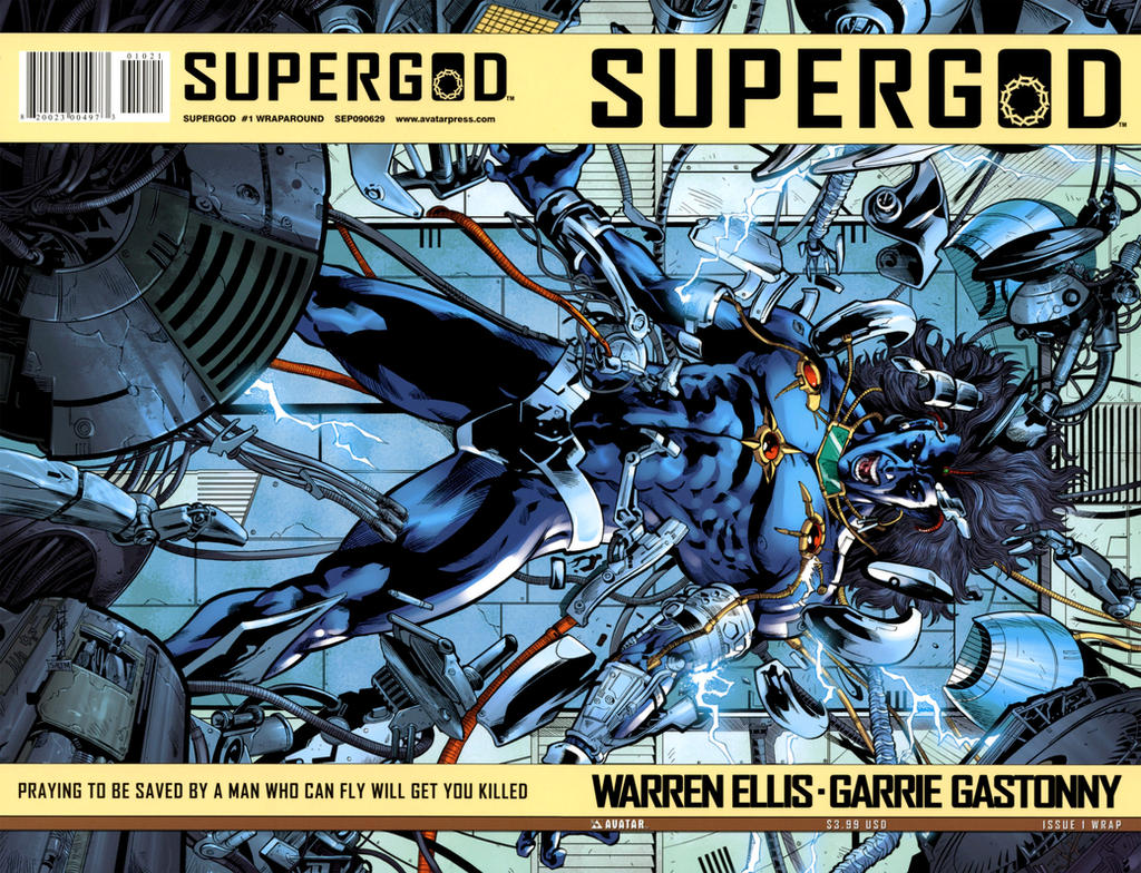 Supergod 1 Wrap Cover Color by Thegerjoos