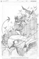 Batgirl Pin-UP