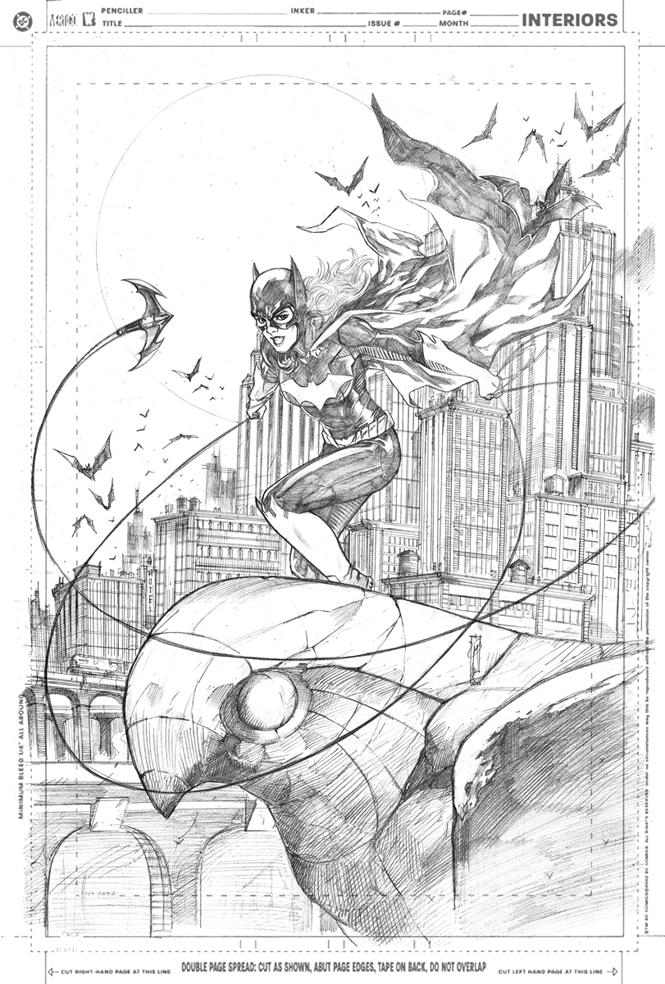 Batgirl Pin-UP by Thegerjoos