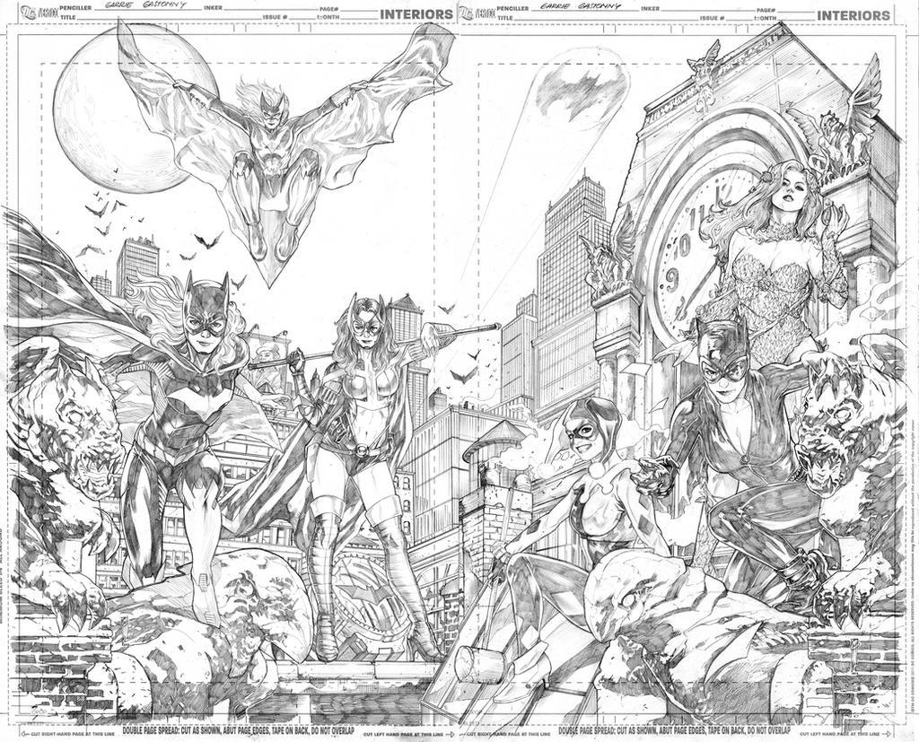 Gotham City Sirens by Thegerjoos