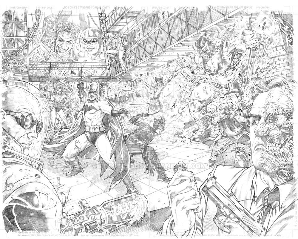 Batman Arkham Asylum by Thegerjoos