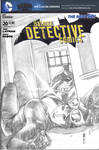 Detective Comics Blank Cover Sketch