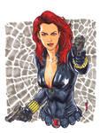 Black Widow Copic Marker