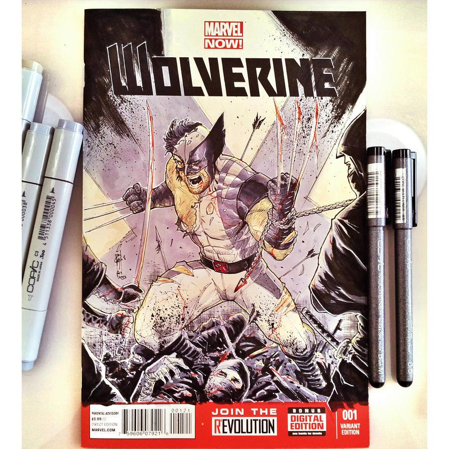 Wolverine Battle Damage by Thegerjoos