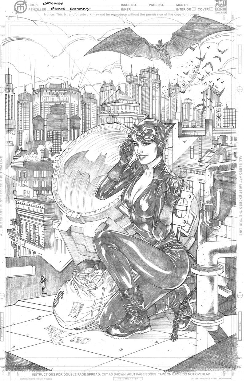 Catwoman by Thegerjoos