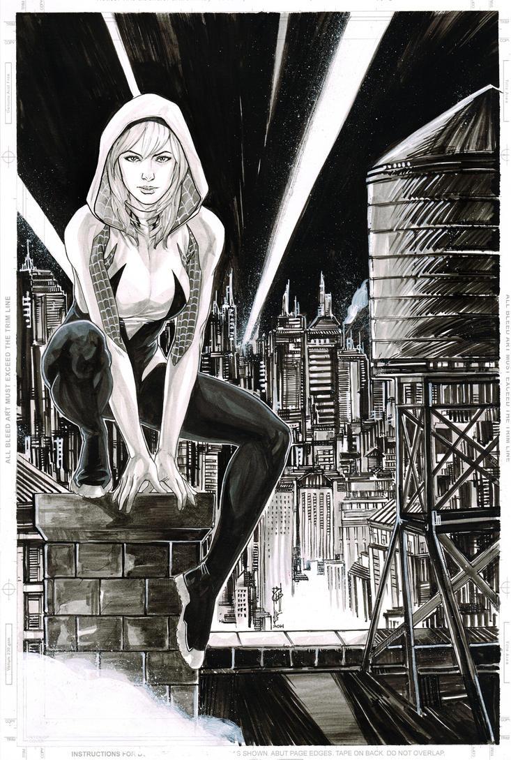 Spider-Gwen by Thegerjoos