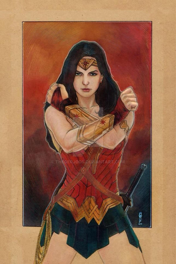 Wonder Woman by Thegerjoos