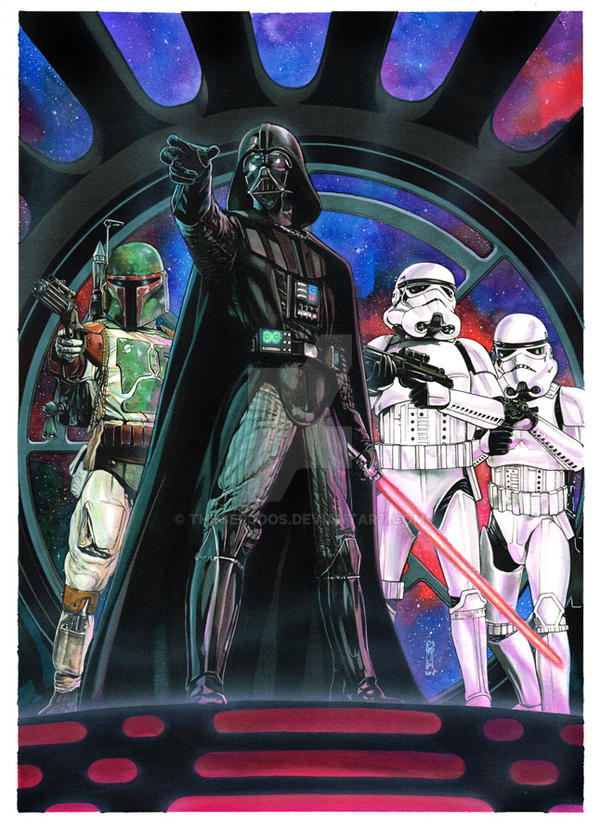 Star Wars Dark Side guard by Thegerjoos