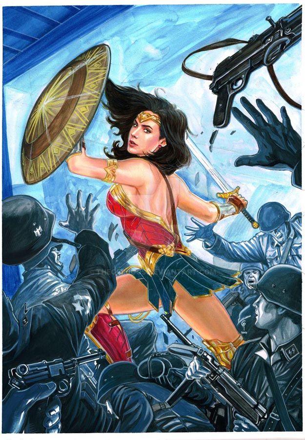 Wonder Woman Dawn Of Justice Movie by Thegerjoos