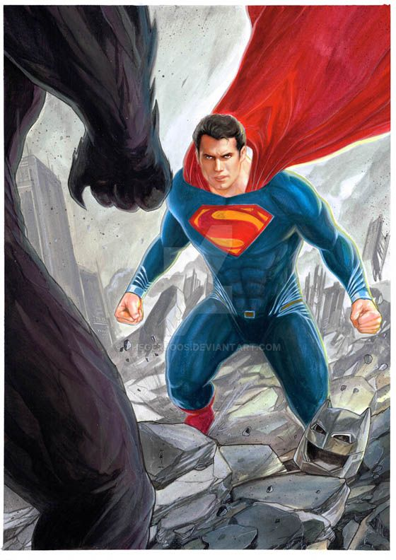 Superman Dawn Of Justice color 72 by Thegerjoos