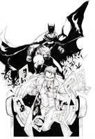 Bat joke day by Thegerjoos