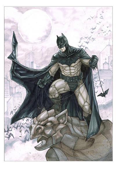 Batman Noel  by Thegerjoos