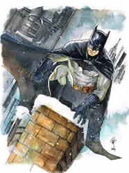 Bat winter by Thegerjoos