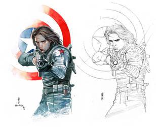 Winter Soldier by Thegerjoos