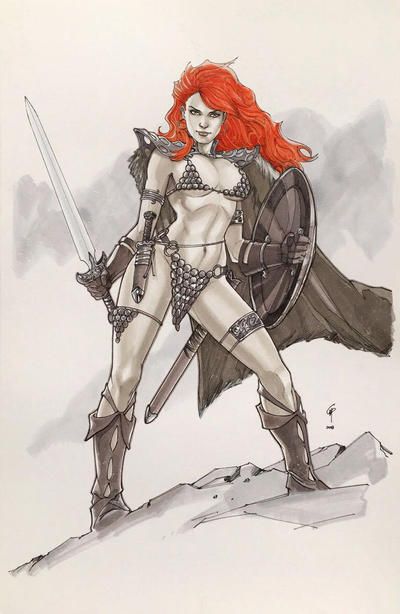 Red Sonja by Thegerjoos