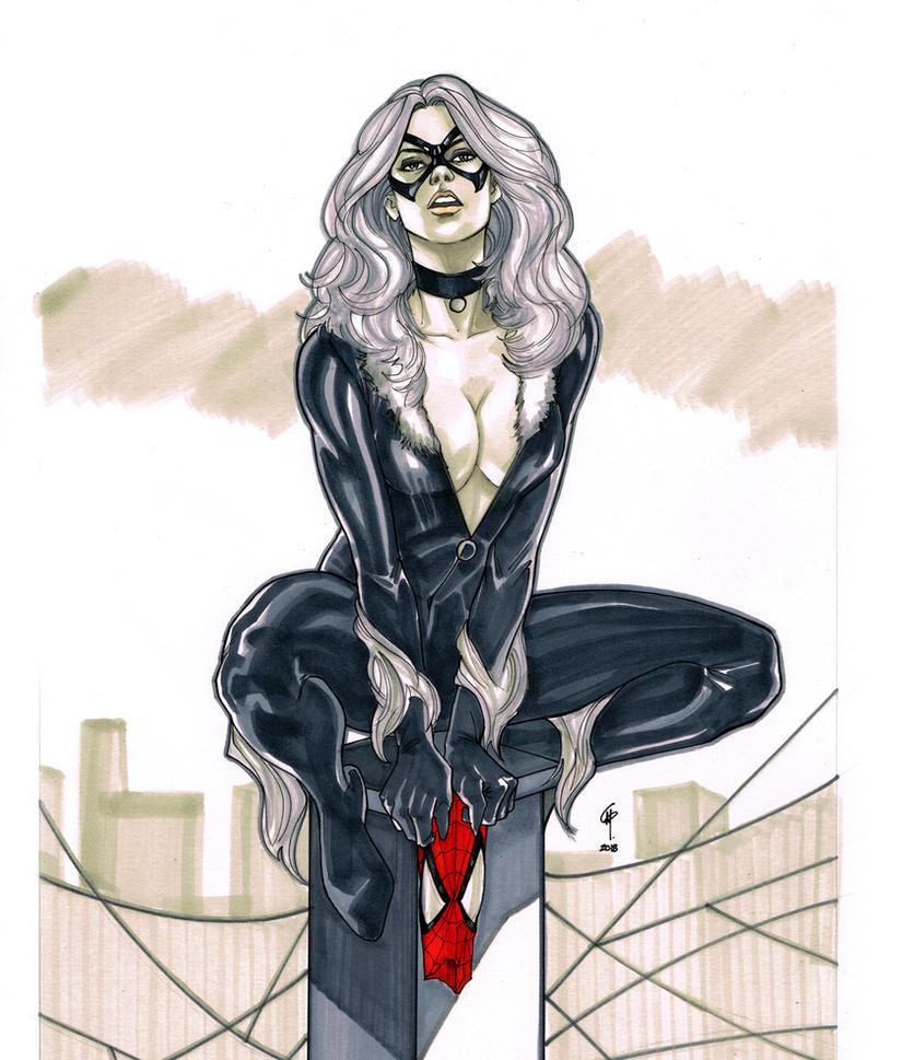 Black Cat aka Felicia Hardy by Thegerjoos