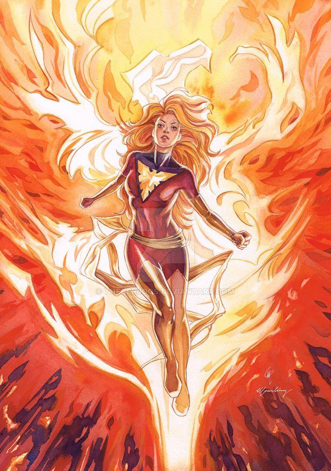 New Dark Phoenix by Thegerjoos