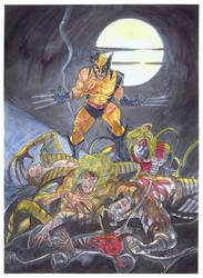 Wolverine Homage Cover