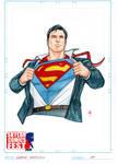 Superman Action Pose