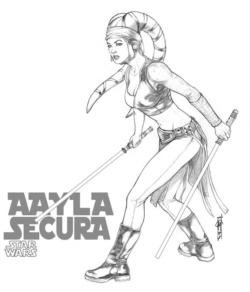 aayla secura by thegerjoos on deviantart