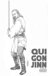 Qui-Gon Jiin by Thegerjoos