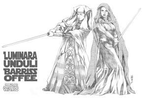 Luminara and Offee