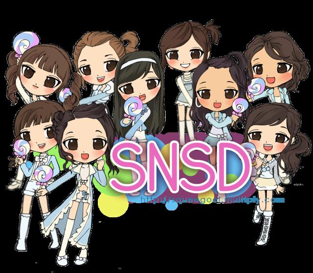 Super Star Fashion Photo .korea superstar,girl group , boy SNSD Cartoon