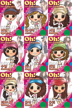 SNSD Oh CHIBI complete