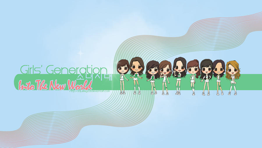 chibi wallpaper. SNSD ITNW CHIBI wallpaper by
