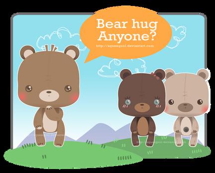 Bear hug anyone?