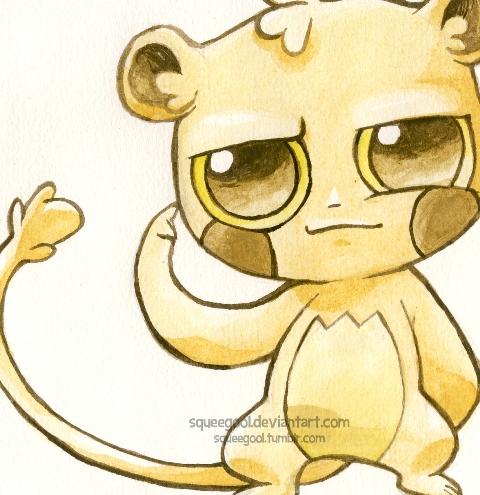 tarsier by squeegool on DeviantArt