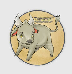 tamaraw by squeegool