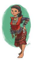 mandaya woman