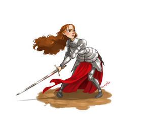 Joan of arc by squeegool