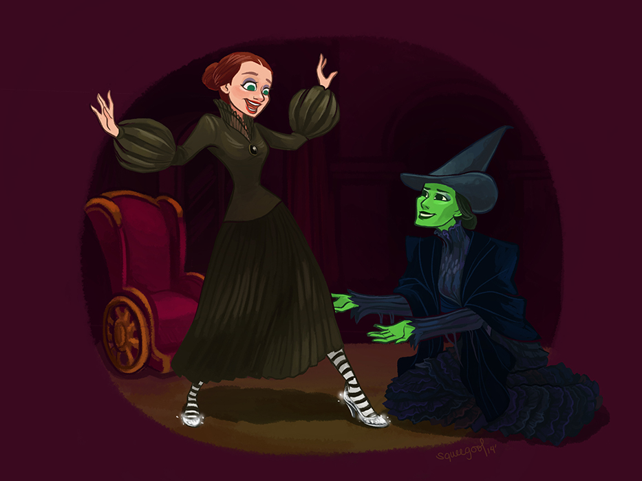 Wicked witch of the East by squeegool on DeviantArt