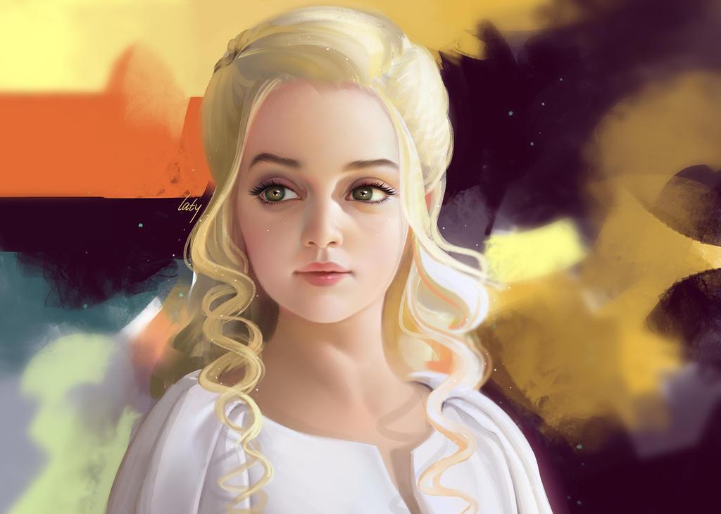 DaenerysTargaryen by latyll