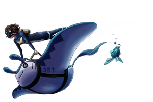 Deep Dive - Water Race Collab by Tinuvion