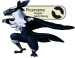 The magpie Fakemon Picarsene
