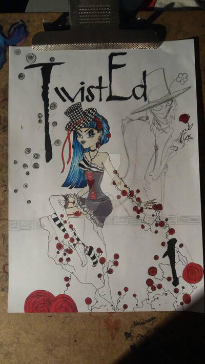 TwistEd front page  by SaraOrSaraH