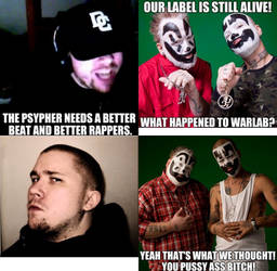 DZK VS Insane Clown Posse by Graymonsuta