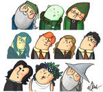 Some HP characters