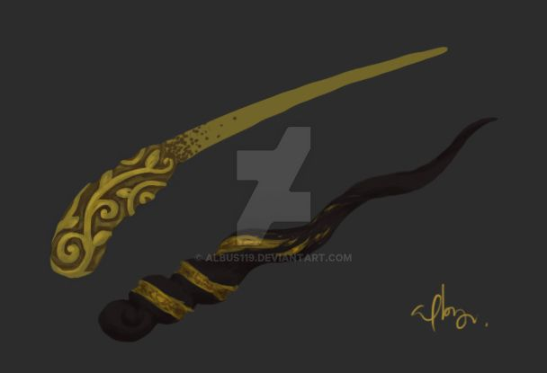 Wand design by albus119 on deviantart - Coole wanddesigns ...