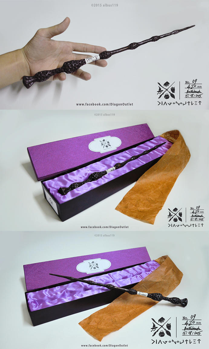 Replica of the elder wand by albus119 on deviantart for Dumbledore elder wand replica