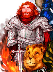 Godric Gryffindor by albus119